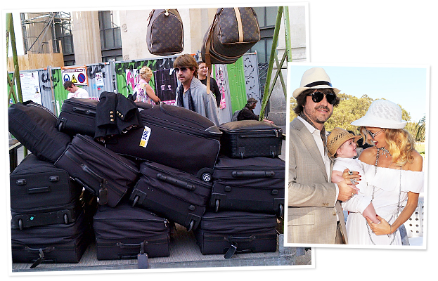 Rachel Zoe Suitcases