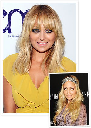 Nicole Richie, New Hair