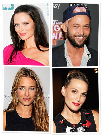 Georgina Chapman, Chris Benz, Charlotte Ronson, Molly Sims