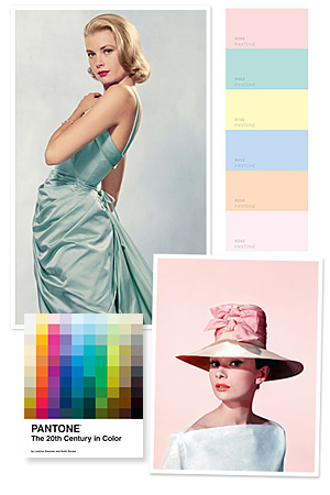 Grace Kelly, Pantone