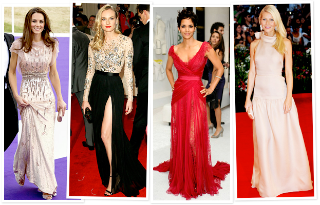 Kate Middleton, Halle Berry, Prettiest Dresses