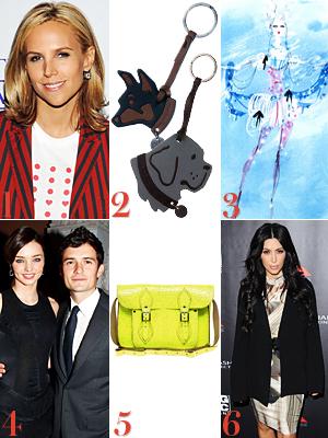 Tory Burch, Proenza Schouler, Christian Lacroix, Miranda Kerr, Cambridge Satchel Company, Kim Kardashian