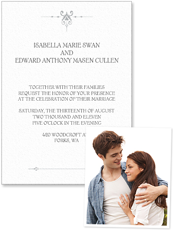Twilight Wedding Invite