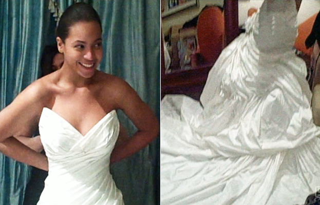 Beyonc 39s Wedding Dress Finally Revealed