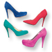 Saturated Suede Heels: InStyle's Top Picks!