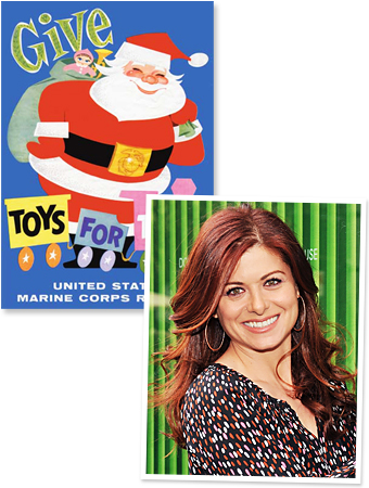 Debra Messing, Toys For Tots