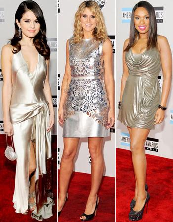 Silver Dresses AMA 2011