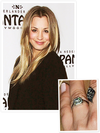 Kaley Cuoco, Engagement Ring