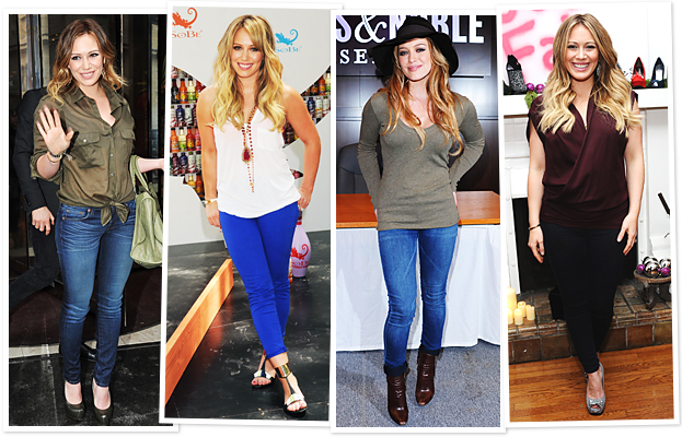 Hillary Duff Owns 100 Pairs of Jeans