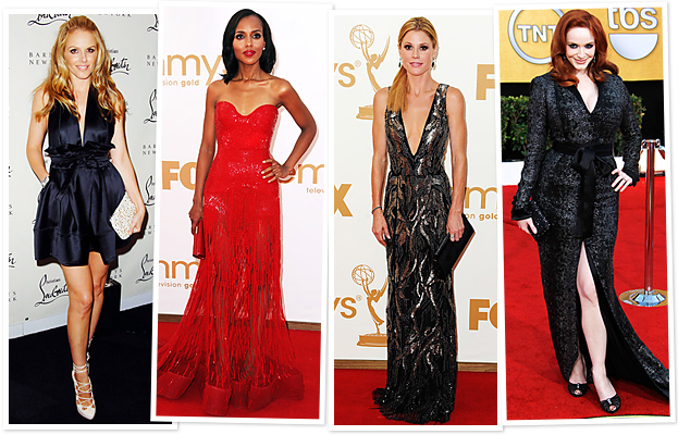 Kerry Washington, Christina Hendricks, Memorable Dresses