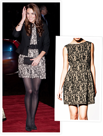 Kate Middleton in Zara