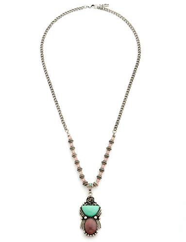 Prairie Rose Necklace