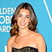 Rainey Qualley Is Miss Golden Globe 2012!