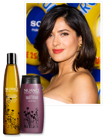 Salma Hayek - Nuance Cosmetics