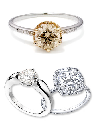 Top Engagement Rings 2011