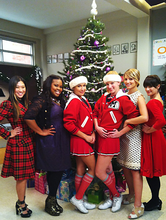 Glee, Christmas Trees