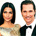 Celebrity Engagements: Matthew McConaughey; John Legend