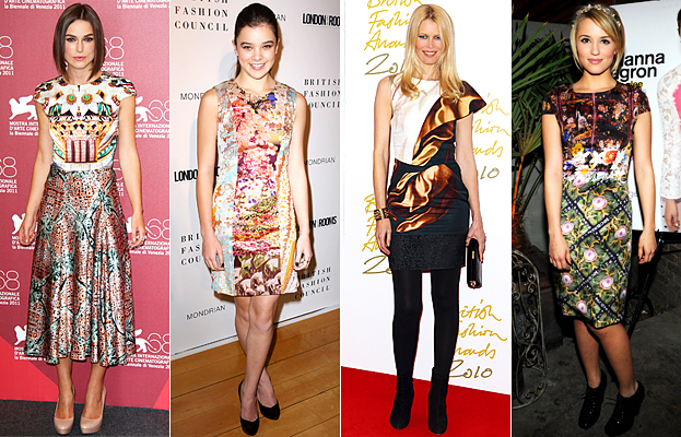 Mary Katrantzou Celebrities