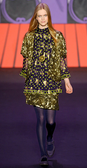 Anna Sui fall fashion show