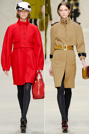 Burberry Prorsum fall fashion show