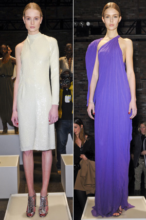Halston fall fashion show