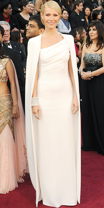 Gwyneth Paltrow - Tom Ford - Oscars Trends - White