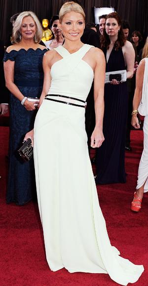 Kelly Ripa - Carolina Herrera - Oscars 2012