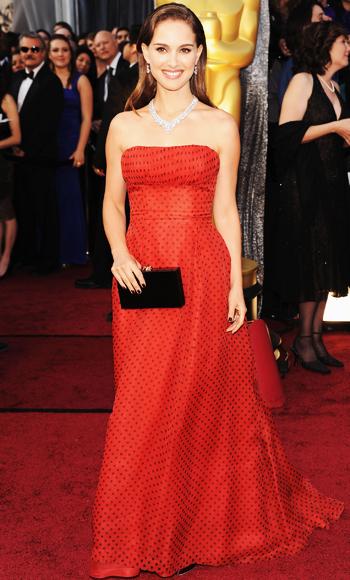 Natalie Portman - Dior - Oscar Trends - Red
