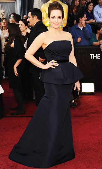 Tina Fey - Carolina Herrera - Oscars