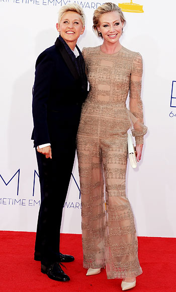 Look of the Day photo | Ellen DeGeneres and Portia de Rossi