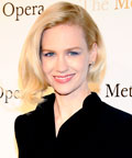 January Jones - Daily Beauty Tip - Black Nail Polish