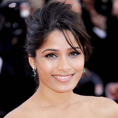 Freida Pinto - Transformation - Hair - Celebrity Before and After