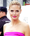 Heidi Klum - Daily Beauty Tip - Celebrity Beauty Tips