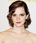 Emma Watson - Daily Beauty Tip - Glossed Rose Lips