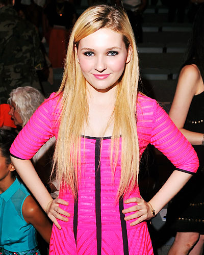 Abigail Breslin - New York Fashion Week
