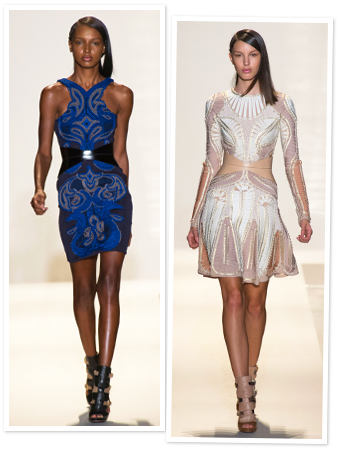 herve leger, fashion week