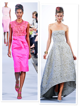 Oscar de la Renta, Fashion Week