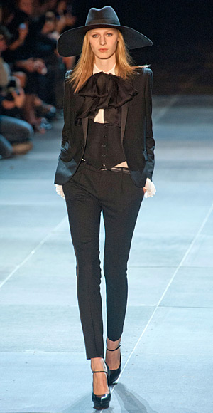 Saint Laurent, Fashion Week