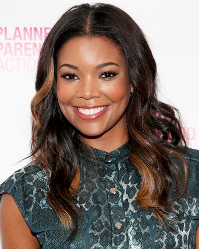 Gabrielle union hair highlights