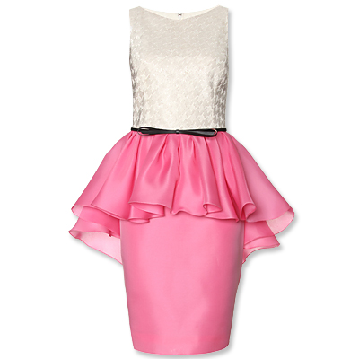 Jason Wu - peplum dress - We're Obsessed