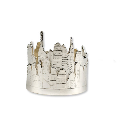 Mia Fonssagrives Solow New York City Skyline Cuff - We're Obsessed