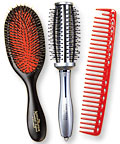 hair brushes - hair styles - grooming