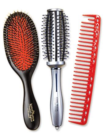 hair brushes - hair styles - grooming