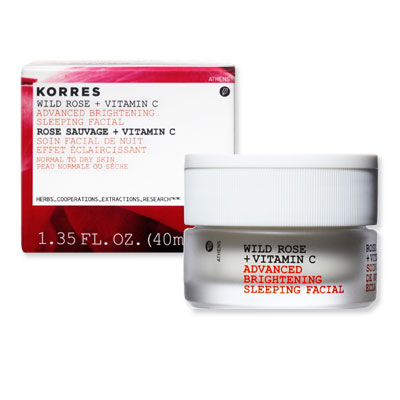 Look of the Day photo | Korres Wild Rose Sleeping Facial