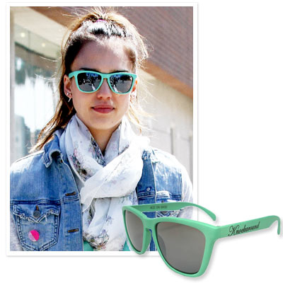 Jessica Alba - Knockaround - Shop Star Sunglasses