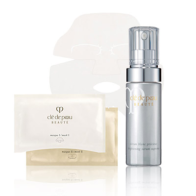 Look of the Day photo | Cle de Peau Brightening Mask & Serum