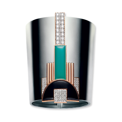 Ralph Lauren - art deco cuff - We're Obsessed