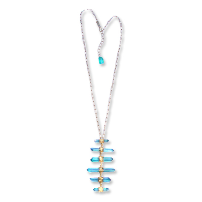 quartz - necklace - We're Obsessed