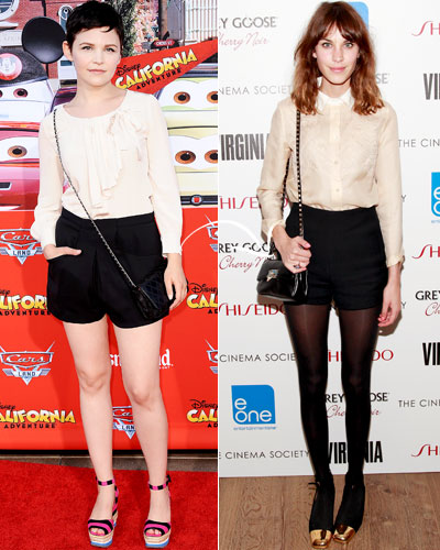 Double-Duty Pieces - Fall Fashion - Ginnifer Goodwin - Alexa Chung