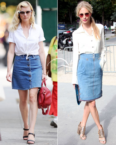 Double-Duty Pieces - Fall Fashion - Kirsten Dunst - Poppy Delevigne - Chanel